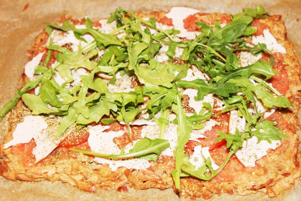 thunfisch pizza low carb